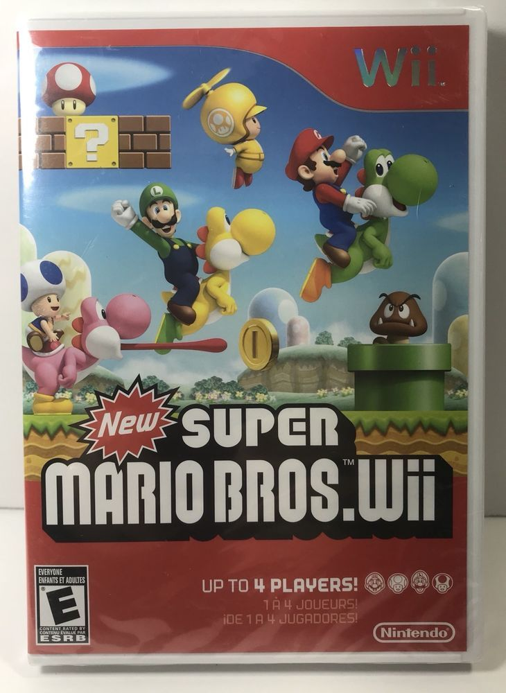 New Super Mario Bros. Wii (Wii, 2009) BRAND NEW SEALED | Video Games & Consoles, Video Games | eBay!