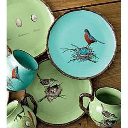 Feathered Nest of Hope ? bird feather u0026 nest art jewelry u0026 decor - Bird Nesting Dishes Mugs And Plates & 178 best Kitchen Plates images on Pinterest | Dishes Dish sets and ...