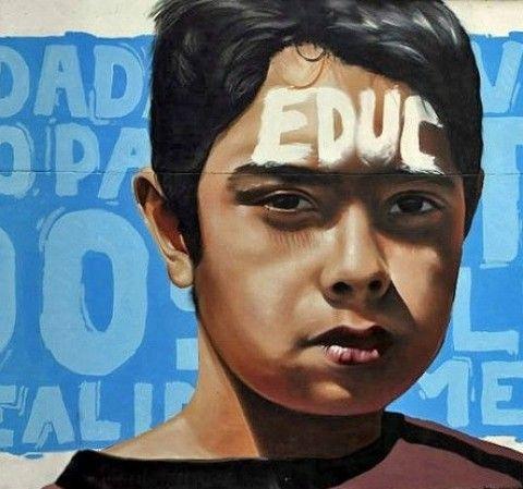 ESEC – Educame New Mural @ Antofagasta, Chile