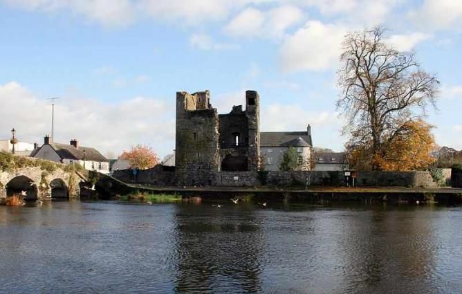 River Barrow through Leighlinbridge   © Sarah777/WikiCommons