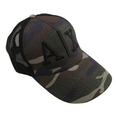 Erkek AX Kamuflaj Fileli Kep Şapka