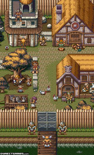 Viking Village Mockup by AlbertoV.deviantart.com on @DeviantArt