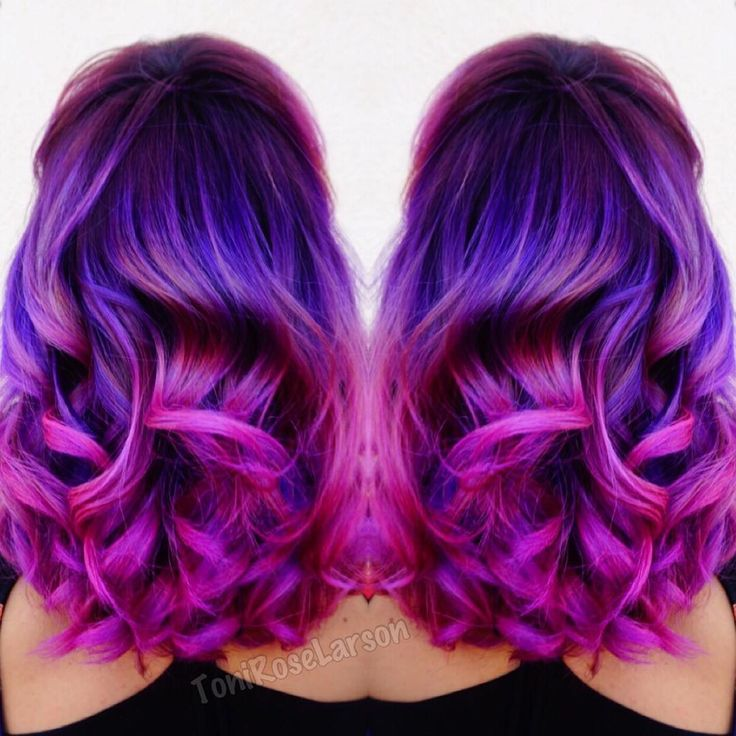 """"""" @joico Color Intensity Used!  K-Pak Chrome V4 melted into New Orchid + Hot…"""