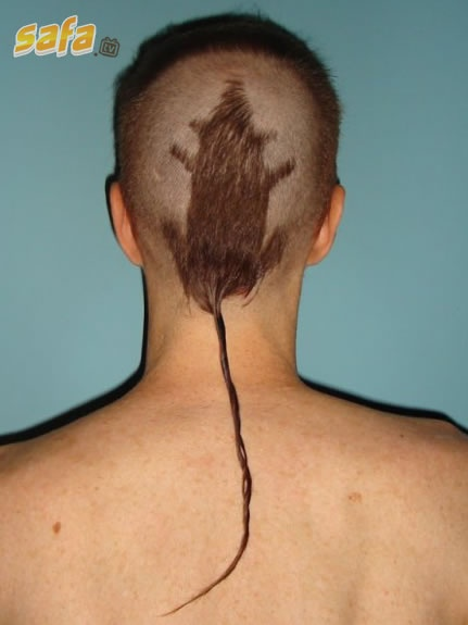 rat tail.. soooo gross