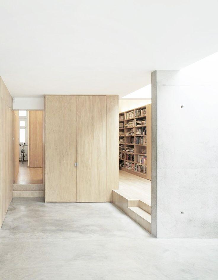 Interior of Hopefield Avenue, London Dow Jones Architects 2010