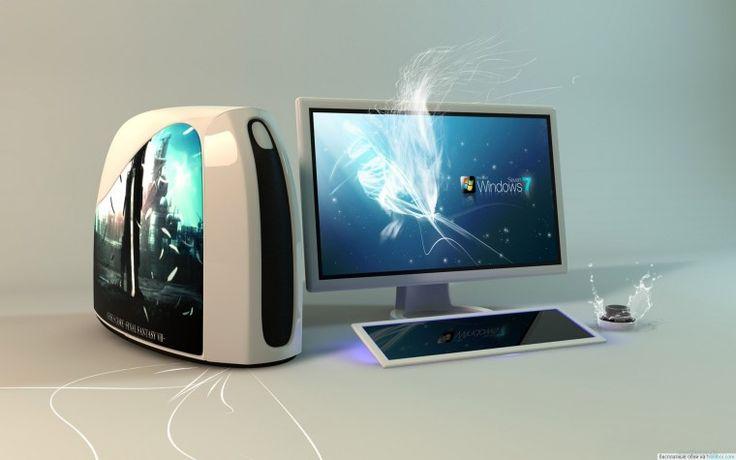 Современный компьютер - Обои для рабочего стола, картинки, фоны, заставки