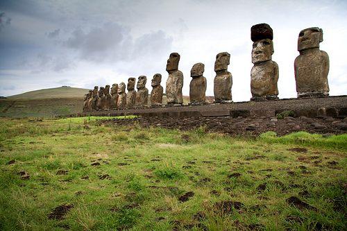 Ahu Tongariki, Rapa Nui, Isla de Pascua, Chile
