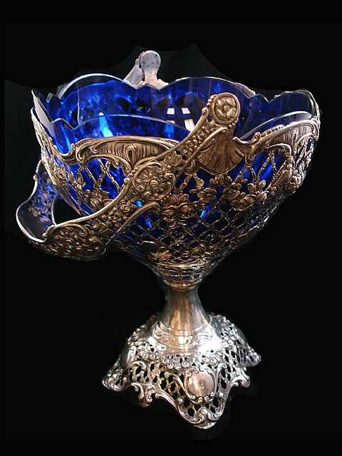 Sterling Basket This Is The Most Wonderful Antique