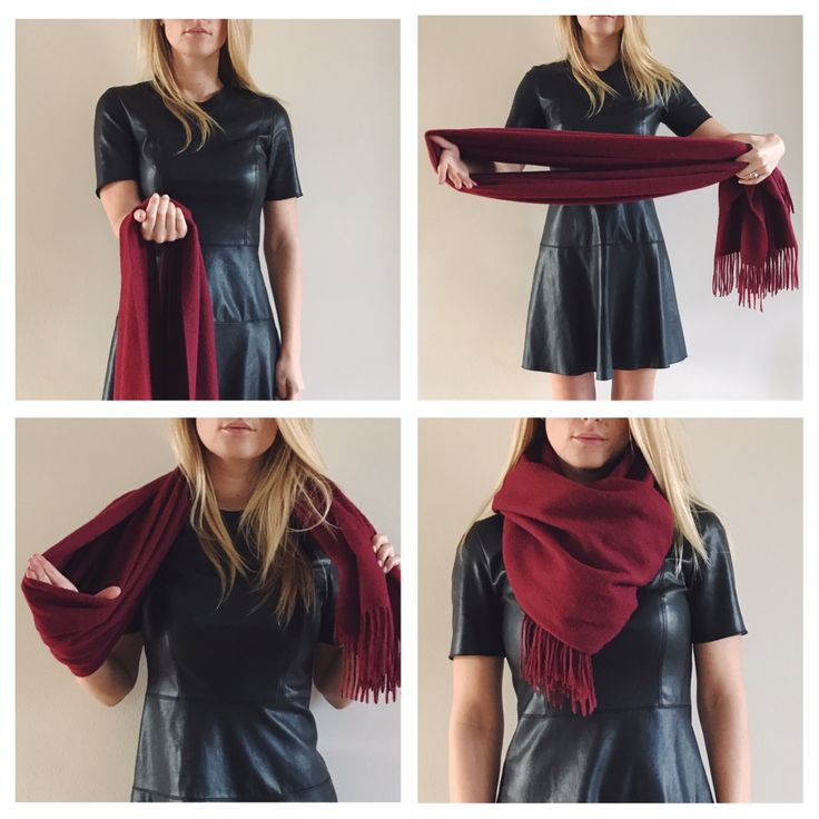Vier manieren om Inez Cashmere sjaals te dragen Tips and tricks four ways to wear cashmere scarfs
