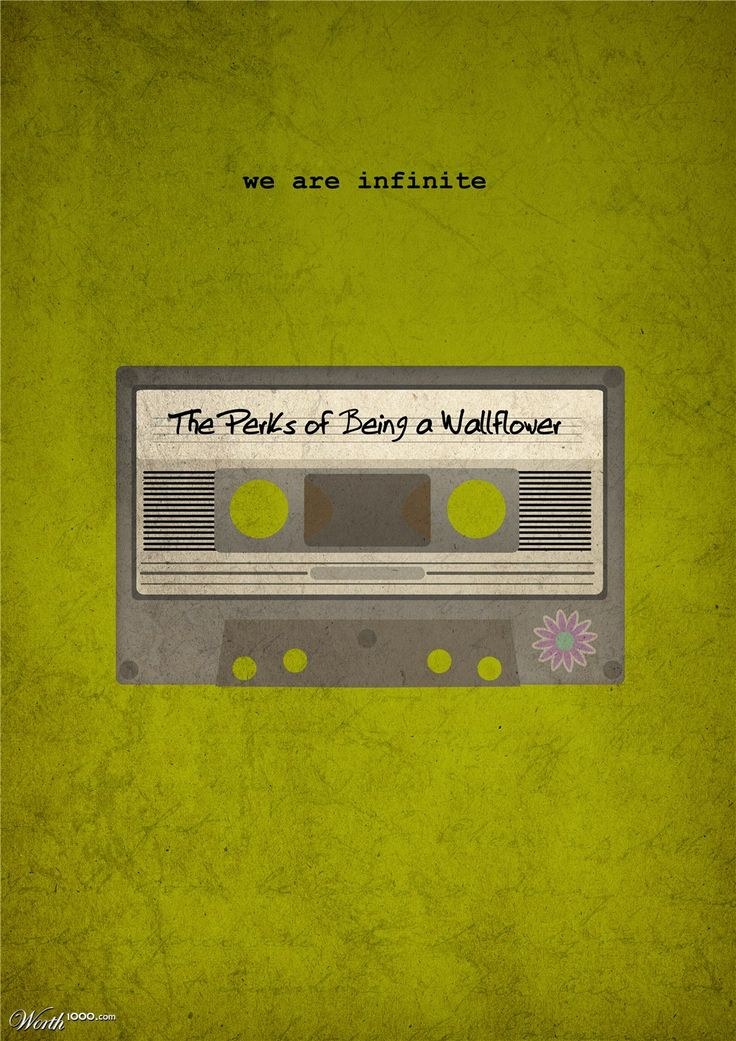 The Perks of Being a Wallflower (2012) ~ Minimal Movie Poster by Matt Sharah #amusementphile