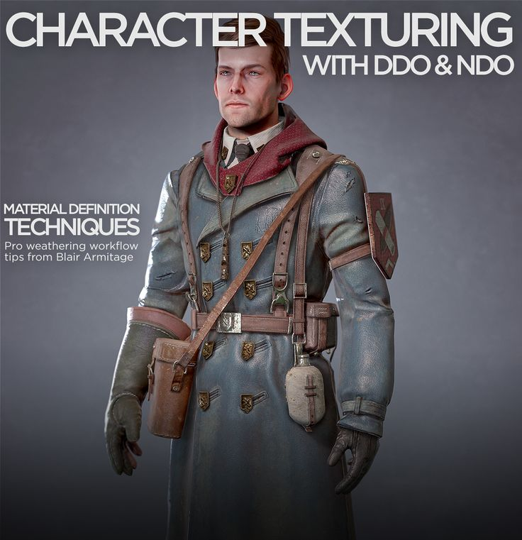 Issue02 | Quixel Character Texturing