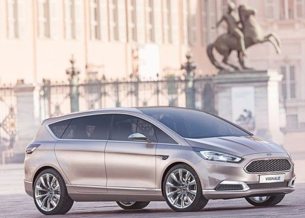 2014 Ford S MAX Vignale Side 600x429 2014 Ford S MAX Vignale Review With New Concept