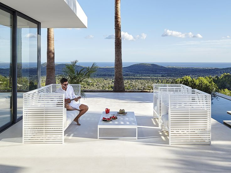 New DNA collection for GANDIABLASCO. Outdoor furniture and design. DNA chairs, DNA chaiselongue, DNA Sofas, DNA poufs, DNA banks and DNA armchair.