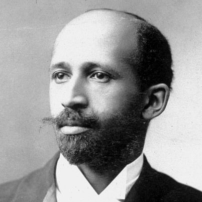 W.E.B. Du Bois...First African American to earn a doctorate degree (Ph.D.) from Harvard University 1895.