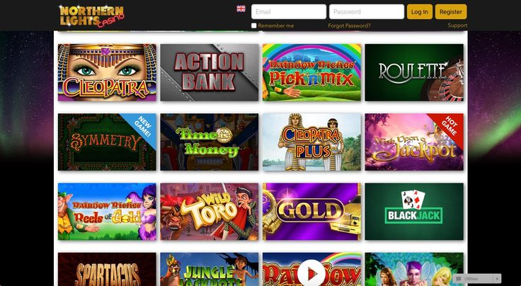Northern Lights is a fun, exciting place to play mobile casino games. With great, new games to choose from you are spoilt for choice, and there is something to suit everyone's taste.