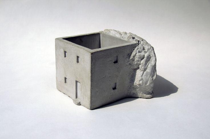 """""""이웃탐험"""" by YEOP (2015) - Cement Planter"""