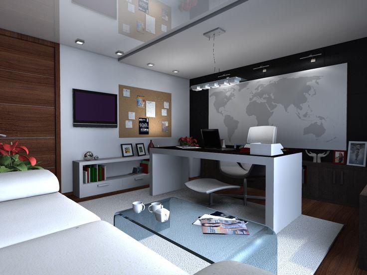Дизайн интерьера домашнего кабинета clavel.ru/