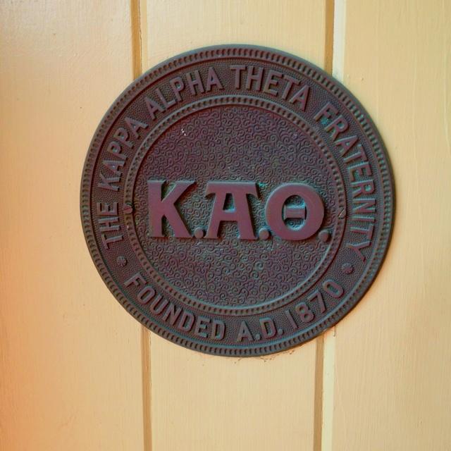 Kappa Alpha Theta Fraternity headquarters #theta1870