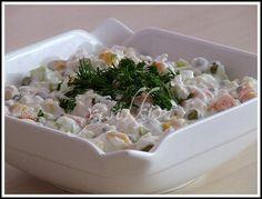 TAVUKLU YOĞURTLU SALATA - yesilkivi - denenmiş, fotoğraflı tatlı ve yemek tarifleri...