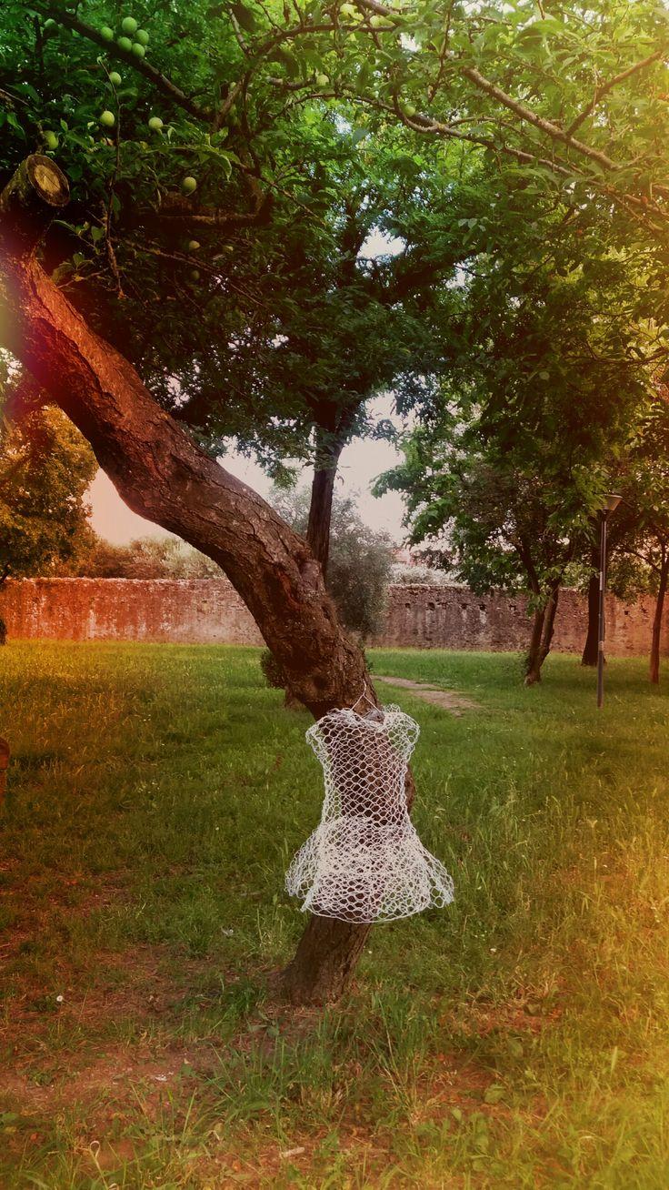 NINFA nei.parchi scultura in rete