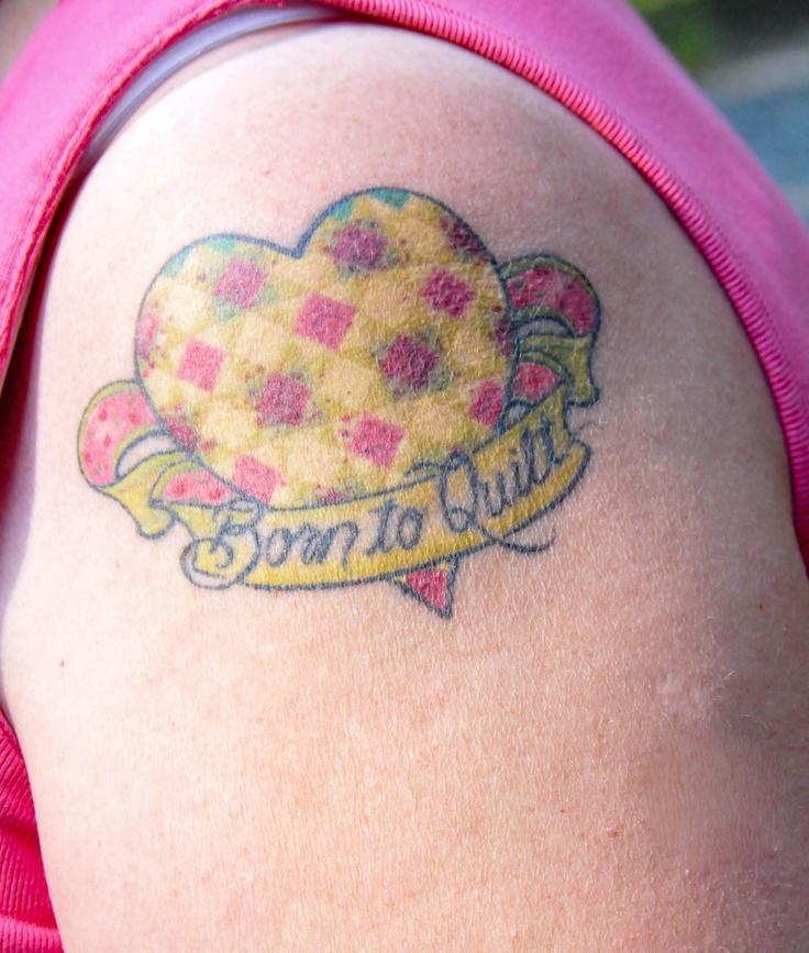 49 best tattoo????? images on Pinterest | Tattoo ideas, Quilt ... : quilt heart tattoo - Adamdwight.com