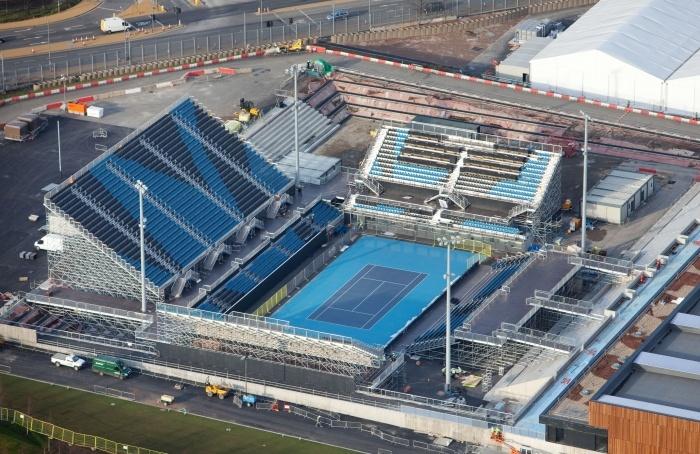London Olympics: Tennis Courts