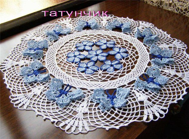 Free Crochet Patterns For Butterfly Doilies : 131 best images about Crochet Doily Patterns on Pinterest ...