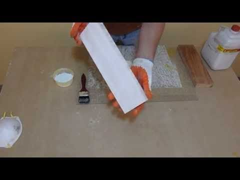 Como Blanquear La Madera - YouTube
