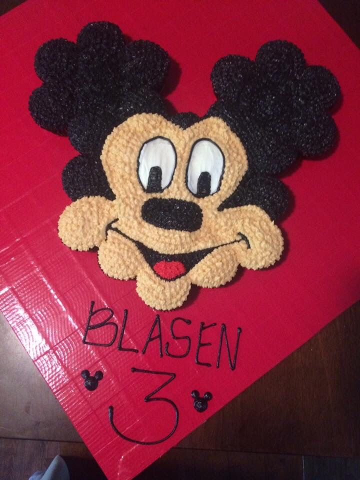 Mickey Mouse Pull Apart Cupcake Cake Sweetcakes Bakery