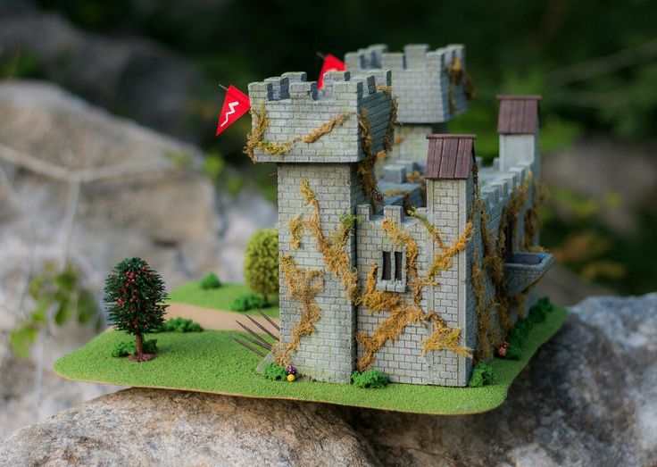 SALE :) Excited to share the latest addition to my #etsy shop: The Castle - #wargamingterrain #RPG #etsyshop #blackfriday #dungeonsanddragons #figurepainting #dnd #Custom #terrain #etsyfinds #sale #roleplaying #warhammer40K #28mm #Scenery #castle #Medieval #wargaming #warhammer #gamingterrain #40k http://etsy.me/2jTsCyy