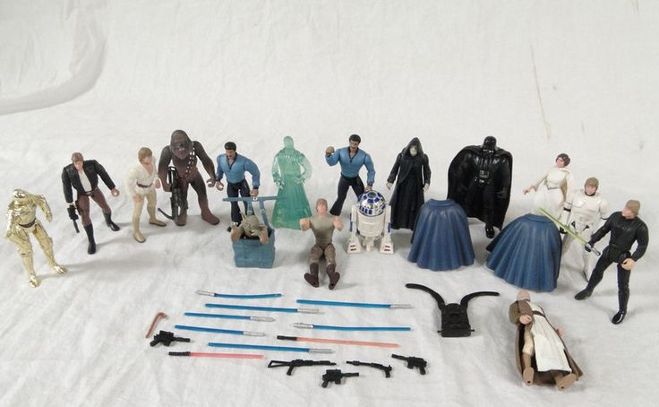 1995 Kenner Star Wars Main Character Action Figure Original Trilogy Cast Toy Lot #Kenner #1955 #1956 #1957 #Star #Wars #Main #character #Action #Figure #Original #Trilogy #Toy #Lot #Cast #Kids #Collectible 0209