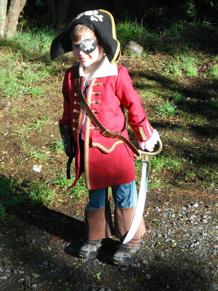 Pirate coat and Hat