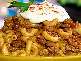 Best goulash recipe yet!! great fall supper: Food Network, Sour Cream, Ground Beef, Goulash Recipe, Bobby Goulash, Groundbeef, Pauladeen, Comforters Food, Paula Deen
