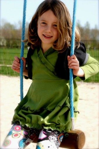 Abacadabra - 127 tricot tuniekjurk, vestje en legging | Naaipatronen.nl | zelfmaakmode patroon online