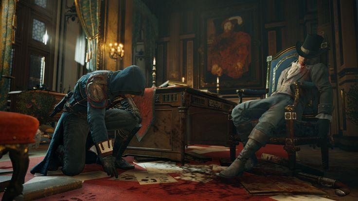 Assassin's Creed: Единство - скриншоты из игры на Riot Pixels, картинки