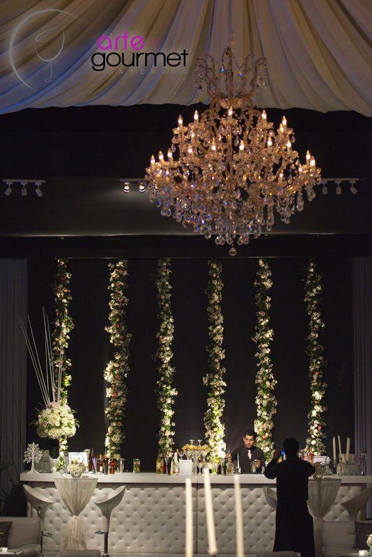 Hermoso contraste con elegante Lámpara de Cristal Modelo María Teresa
