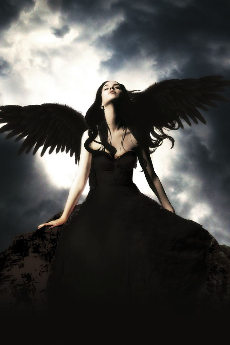 When I see black wings I don't think darkness... I think this is beautiful