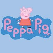 pepppa pig oink oink. peppa pig,geroge the baby,mummy pig darling and Daddy pig the fattest.