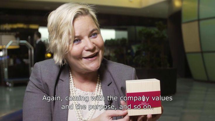 Henna Pääkkönen-Alvim, Key Account Director. For Henna proactiveness is important to win the customers' trust.