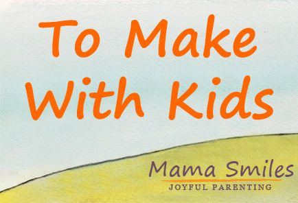 Fun crafts to make with kids - activities that parents and their children can enjoy together. Great family time ideas!