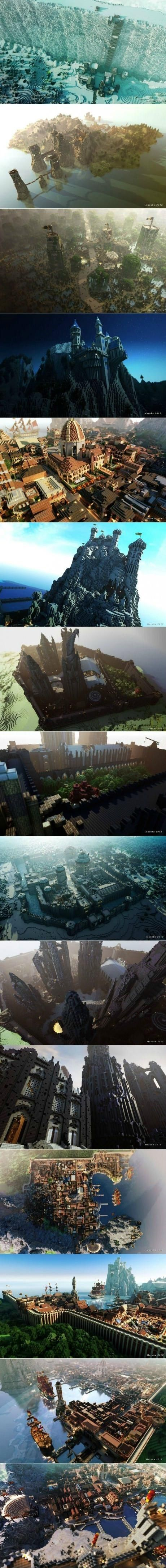 How do people have time for this?! So amazing, wish I could build like this!