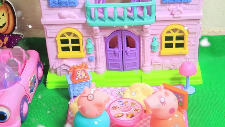 [Toy City] Peppa Pig Toys House Playset for Kids and Children Pepa toys ...