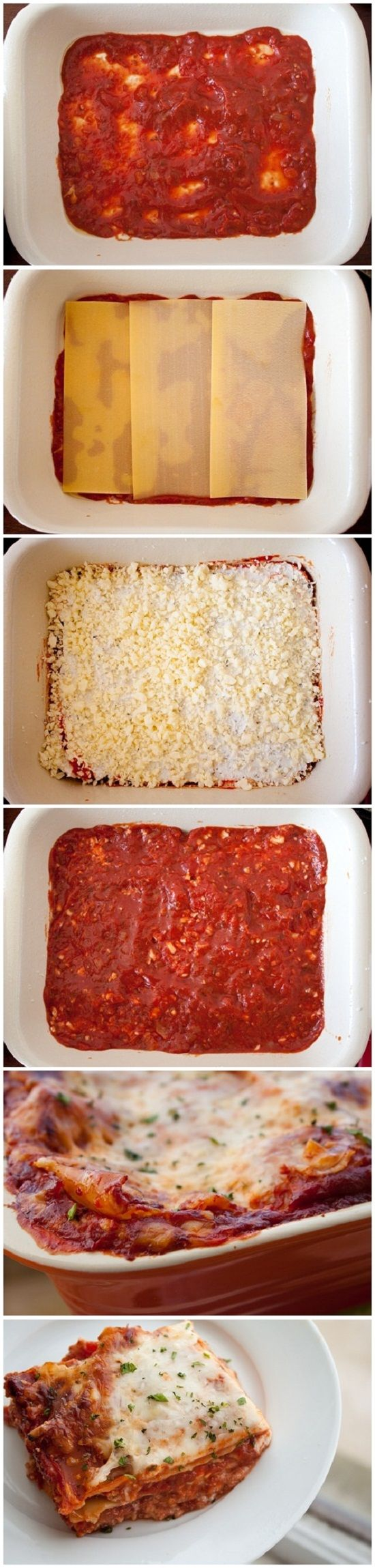 Lasagna, Gooey Three, Cheese Lasagna, Potlucks Dinners, Three Cheese ...
