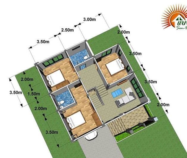 Modern Loft Style 3 Bedroom Multi Storey House Plan Ulric Home Loft Style Model House Plan Loft Style Homes