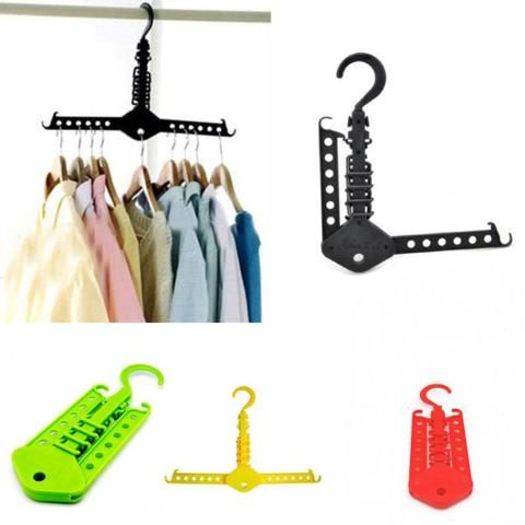 Dual Hanger roupas dobráveis