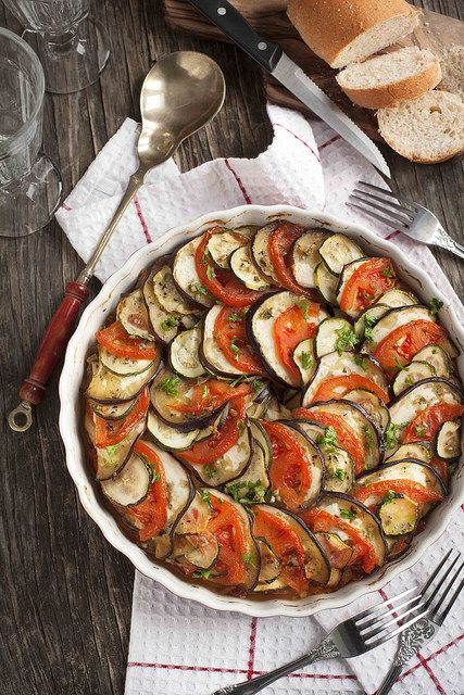 Ratatouille. Vegetable gratin. Famous French dish from Provence. | Flickr - Photo Sharing!