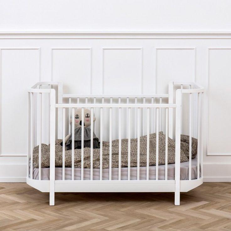 Oliver Furniture Wood Spjälsäng Vit 70x140 - Spjälsängar - Barnsängar - Barnrum