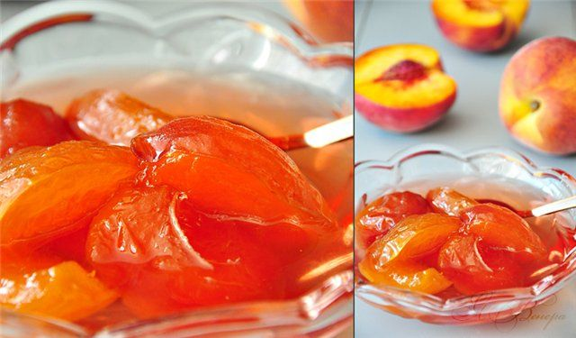 Вкусная пауза - Обычное персиковое варенье.