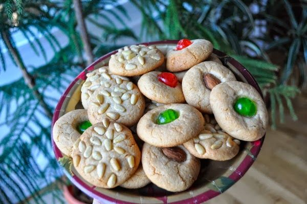 Ciao Chow Linda: Lilli's Almond Paste Cookies