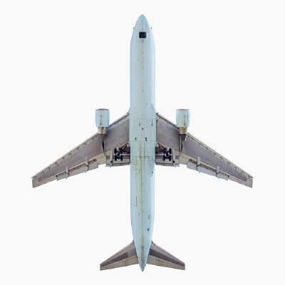JEFFREY MILSTEIN, Air Canada Boeing 767-300  archival pigment print  56 X 56 in.